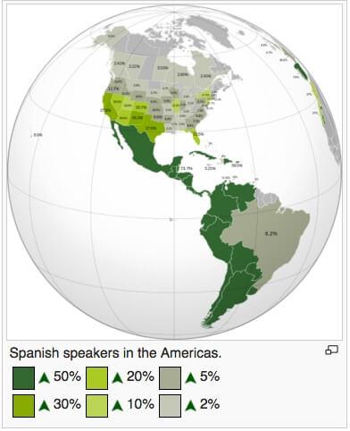 Latin-American-Spanish-speaking-countries
