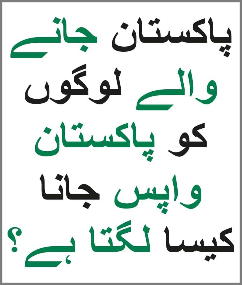 Urdu Language Corner