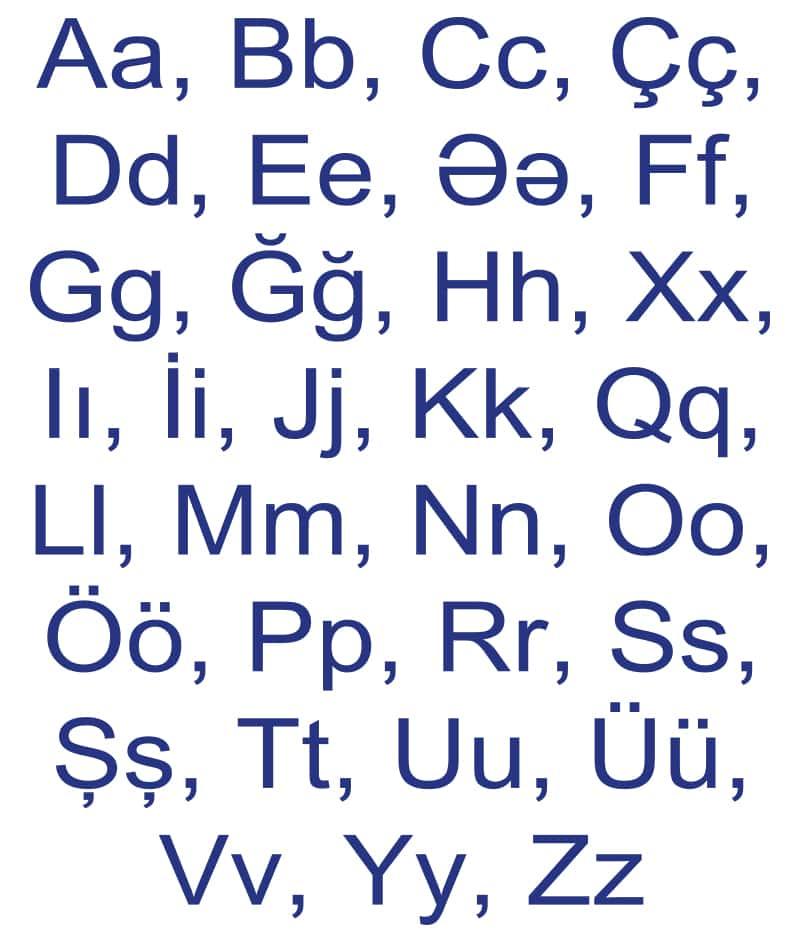 Azerbaijani Language Corner