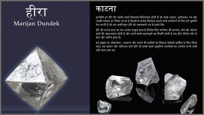 Hindi typesetting