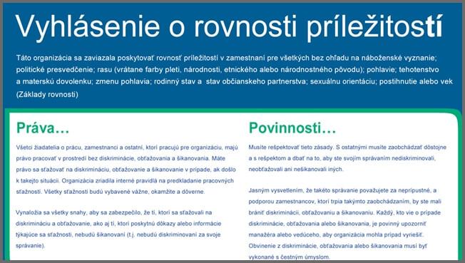 Slovak typesetting